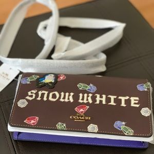 Coach Snow White foldover crossbody